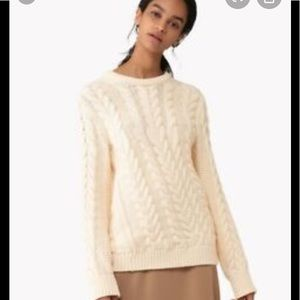 Theory Twisted cable sweater